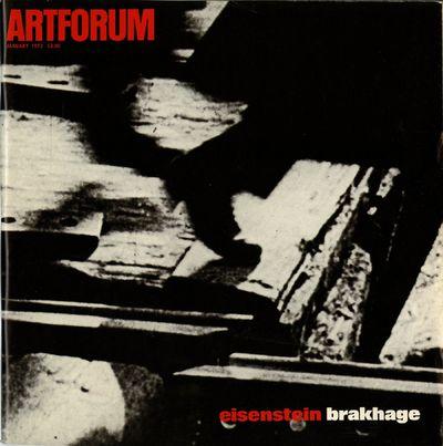 Artforum: Eisenstein Brakhage issue....