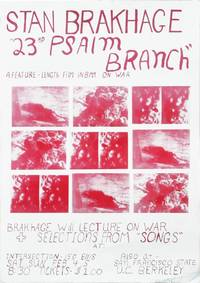 23rd Psalm Branch: A Feature-Length Film in 8mm on War (Original poster for a screening of the 1967 film)