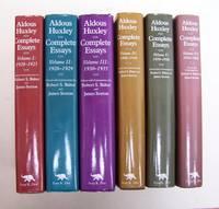 aldous huxley complete essays by aldous huxley image of aldous huxley complete essays 6 volumes complete