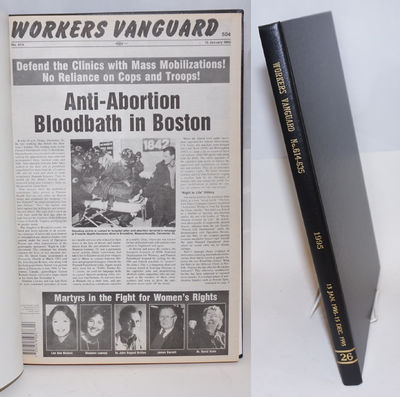New York: Spartacist Publishing Co, 1995. Hardcover. Various pagination, 11x17 inches, bound volume ...