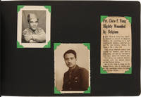 [VERNACULAR PHOTOGRAPH ALBUM RECORDING THE MILITARY TRAINING AND SERVICE OF A YOUNG CHINESE-AMERICAN SIGNAL CORPSMAN]