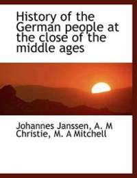 image of History of the German people at the close of the middle ages