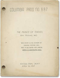 image of The Prince of Thieves (Original screenplay for the 1948 film)