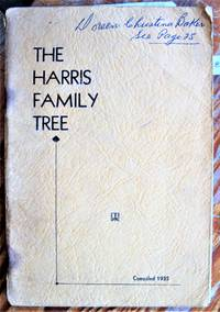 image of The Harris Family Tree. (Stratford, Ontario).