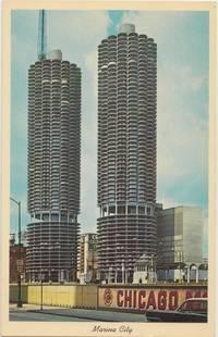 Marina City, Chicago, Illinois 1960s unused Postcard
