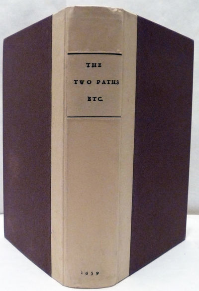 New York: John Wiley, 1859. 1st American edition. Boards. Recased, two-toned boards. Fine. 217 pp. L...