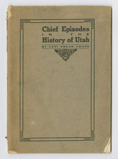 Chicago, 1912. 51pp., with in-text illustrations. Original printed wrappers. Spine chipped, light ed...