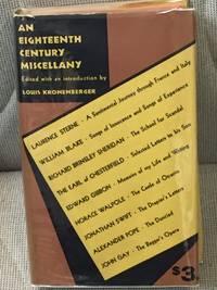 An Eighteenth Century Miscellany