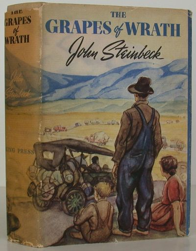 Viking Press, 1939. 1st Edition. Hardcover. Near Fine/Very Good. FIRST EDITION of John Steinbeck's T...