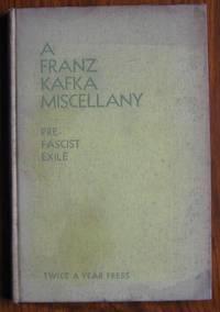 A Franz Kafka Miscellany: Pre-Facist Exile