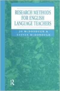 Research Methods for English Language Teachers (Hodder Arnold Publication)