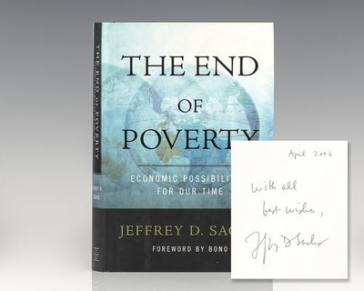 New York: Penguin Press, 2005. First edition of this landmark exploration of economic prosperity and...