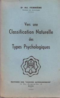 Vers une classification naturelle des types psychologiques