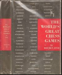 The World's Great Chess Games by Reuben Fine (1914-1993) - Hardcover - 1951 - from The Book Collector and Biblio.com