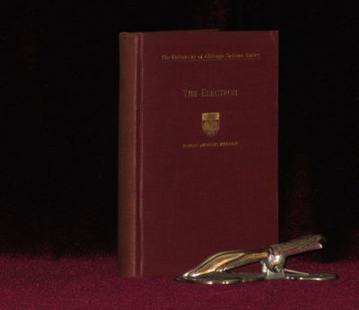 Chicago: University of Chicago Press, 1918. Hard Cover. Near Fine. Small Octavo. First edition, Seco...