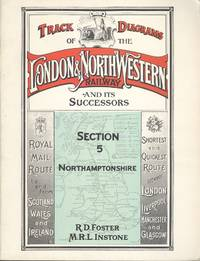 image of Track Layout Diagrams of the London & North Western Railway - Section 5, Northamptonshire.