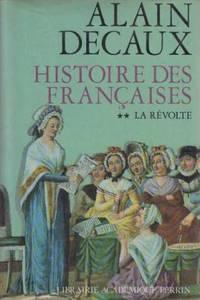 Histoire des françaises tome 2 la revolte