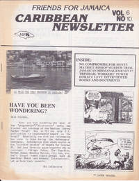 Friends for Jamaica Caribbean Newsletter, 10/86, Vol 6, No 10
