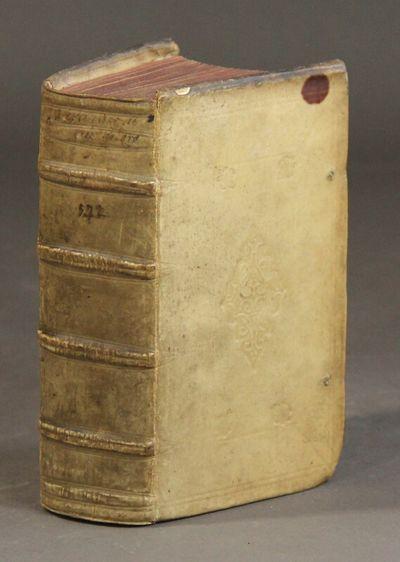 Hanoviæ: Typis Wechelianis, apud Claudium Marnium & heredes Ioan. Aubrii, 1610. 8vo, pp. , 384, ;...