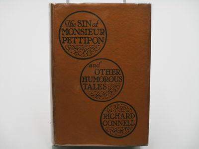 New York. : George H. Doran. , 1922 . Green cloth, orange titles, top edge stained orange. . Near fi...