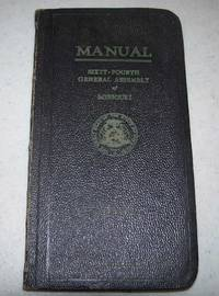 image of List of Members, Officers, Committees and the Rules of the Senate for the Year 1947, 64th Session, General Assembly of Missouri