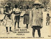 Broadside: Aboriginal People - Land Rights For Indigenous People