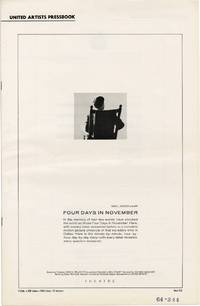 image of Four Days in November (Original Film Pressbook)