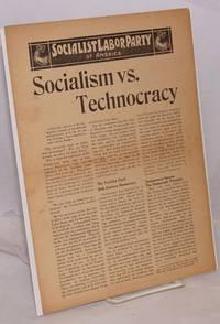 image of Socialism vs. Technocracy [handbill]