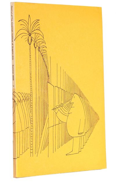 New York: American Institute of Graphic Arts, 1965. stiff paper wrappers. 8vo. stiff paper wrappers....