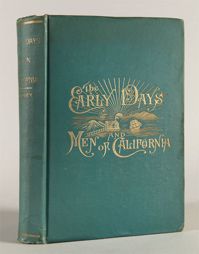 Oakland, 1891. x,406pp. plus frontispiece and three plates. Original blue cloth, stamped in gilt. Li...