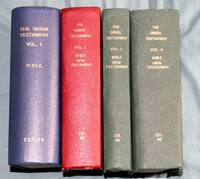 The Greek Testament : With a critically revised Text [ 4 Volumes ]