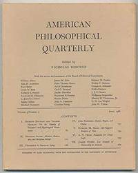 American Philosophical Quarterly: Volume 3, Number 2, April 1966