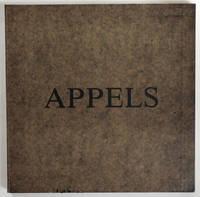 """Appels. Kamill Major : """"Sans fin"""", sérigraphies / Vera Székely : """"Voyage"""", texte / László Vidovszky : """"Mort de Schroeder"""", musique."""