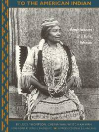 image of To the American Indian : Reminiscences of a Yurok Woman