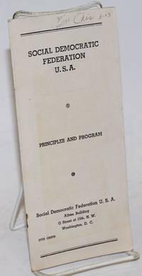 principles and program