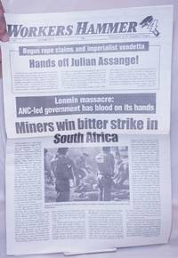 image of Workers Hammer: Newspaper of the Spartacist League[Britain] 2012, Summer, No. 220