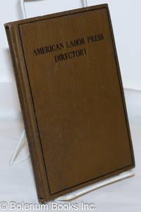 image of American labor press directory