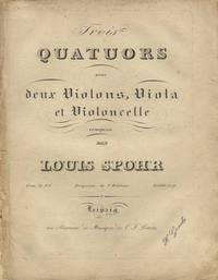 [Op. 74, no. 1]. Trois Quatuors pour deux Violons, Viola et Violoncelle... Oeuv. 74 No. I Pr. 1 Rthl. 20 gr. [Parts]