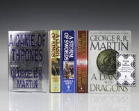 image of The Game of Thrones: A Song of Ice and Fire Saga:] A Game of Thrones; A Clash of Kings; A Storm of Swords; A Feast for Crows; A Dance with Dragons.