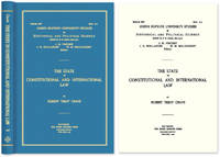 The State in Constitutional and International Law