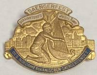 image of Saengerfest / Diamantenes Jubilaum des Nordamerikanischen Saengerbundes [pin]