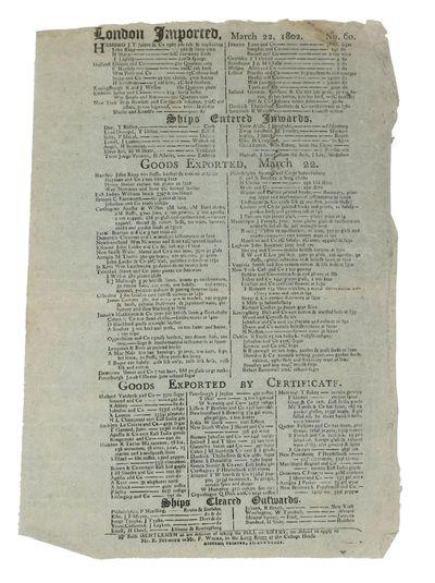 : Diggers, Printer, St. Ann's - Lane, 1802. Light extremity wear. Faint horizontal fold line. Short ...