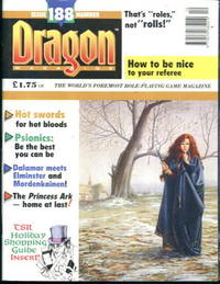 Dragon Magazine #188 December 1992