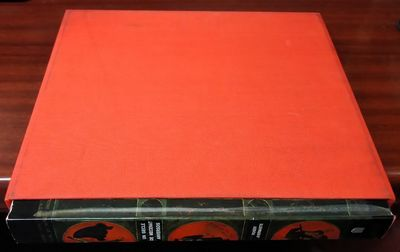 Bruxelles: Arcade, 1974. Hardcover. Quarto; pp 185; VG/VG; black/red/green pictorial spine with whit...