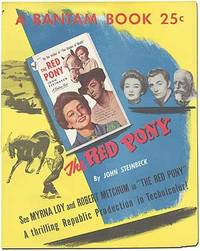 The Red Pony: Original Poster for the Bantam Books Paperback Movie Tie-In Edition