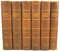 The History of England, from the Invasion of Julius Ceasar to the Revolution in 1688 . . . New Edition, with the Author's Last Corrections and Improvements. To which is prefixed, A short Account of his Life, written by Himself (1830). 6 volumes [WITH]:  The REVEREND T.S. Hughes, B.D. The History of England in 7 Volumes. London: Valpy, 1836. SMOLLETT, TOBIAS. The History of England, from the Revolution to the Death of George the Second . . . New Edition, with the Author's Last Corrections and Improvements. 4 Volumes. London, 1830. WIRTH: HALLAM, HENRY. The Constitutional History of England, 3 Volumes. Third Edition, London, 1830