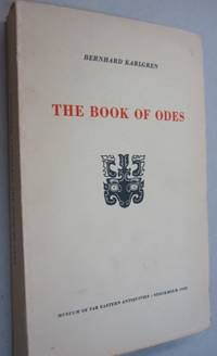 The Book of Odes; Chinese Text, Transcription and Translation