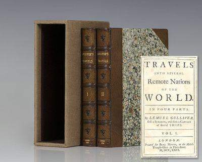 London: Benjamin Motte, 1726. First editions of Jonathan Swift's masterpiece, Gulliver's Travels. Oc...