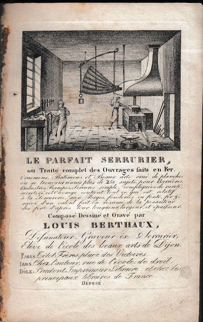 Paris: Roret ... Dijon, chez l'Auteur, 1834. Second printing.. Original printed wrappers mounted to ...