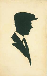 Souvenir Silhouette. Post Card Woodcut